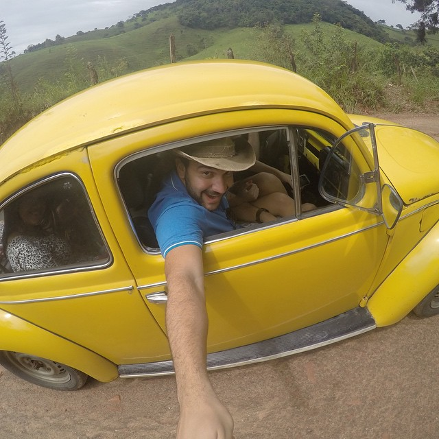 Photo of the Day! The trail was steep, the dirt road was bad, and the gas gauge was broken, but this @VW Beetle never let us down! Photo by Filipe Guimarães. Show us your favorite mode of transportation by cliking the link in our profile. #Beetle...