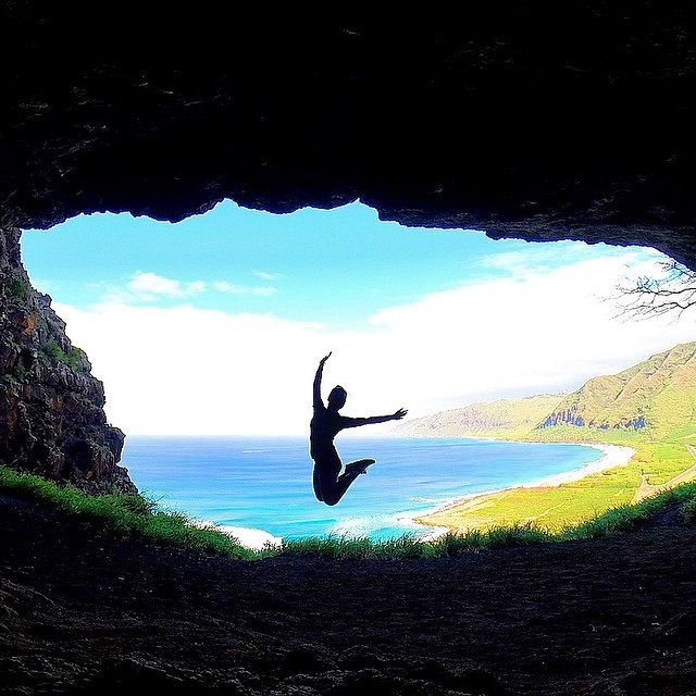 """Live Happy"" Photo: @kalehuamakanoe_ GoPro HERO4 | GoPole Reach #gopro #gopole #gopolereach #hawaii"
