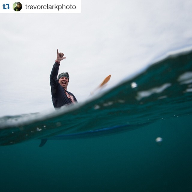 #Reposted epic photo (f/ #Hi5TheWave surf trip photographer & human being extraordinaire, @trevorclarkphoto) of @hi5sfoundation director #RoyTuscany brimming w/ #SmilesForMiles in #ShakaTown on Maui's south side!! @staywild_studios...