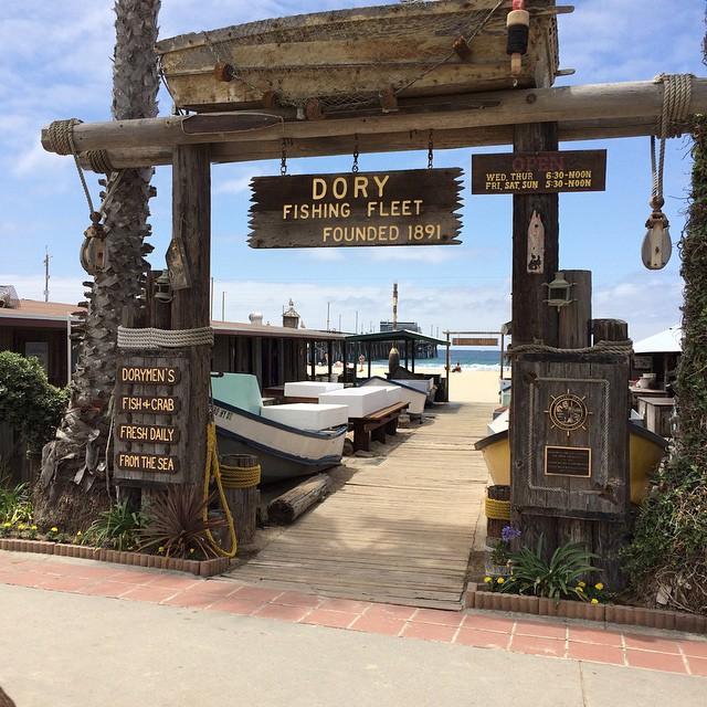 Doryman's at Newport Pier. #newportpier #uluLAGOON ##newportbeach #ca