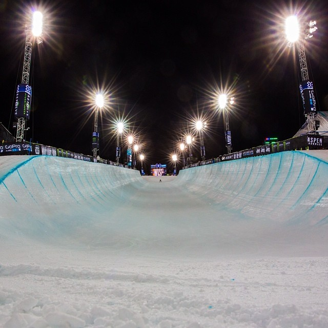 Calm before the storm! #xgames  Photo @petermorning
