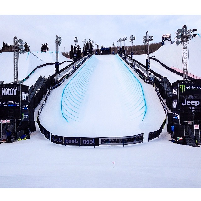 Good morning and welcome to day one of #xgames Aspen! Over the next four days we will be giving out 51 medals right here at Buttermilk Mountain! #judgesview