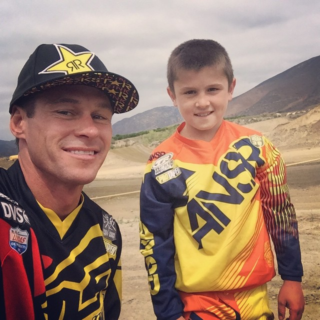 Rode @officialpalaraceway this morning with jr