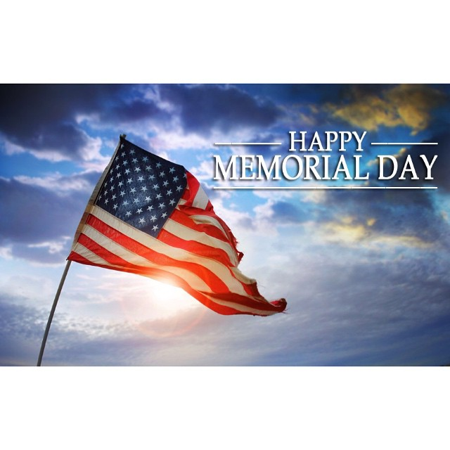 Remember those who served. All gave some, some gave all. Happy Memorial Day