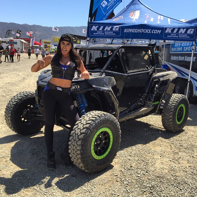 Who thinks my RZR looks hot today?? @nikki_howard @toyotires @kingshocks