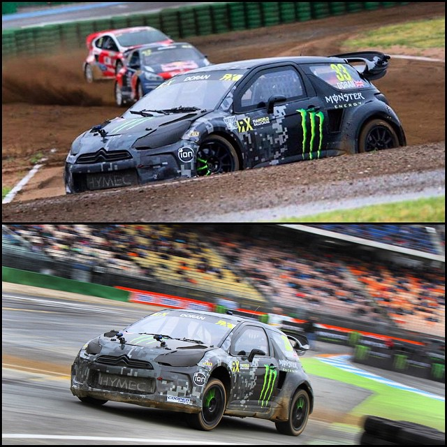 After some bad luck and a few stupid mistakes by me I gave up the top qualifying spot to my #SDRX @monsterenergy team mate @petterwrc03!! I dropped back to 3rd but I'm still very happy with that and know we can do better tomorrow!! Bring on the finals...