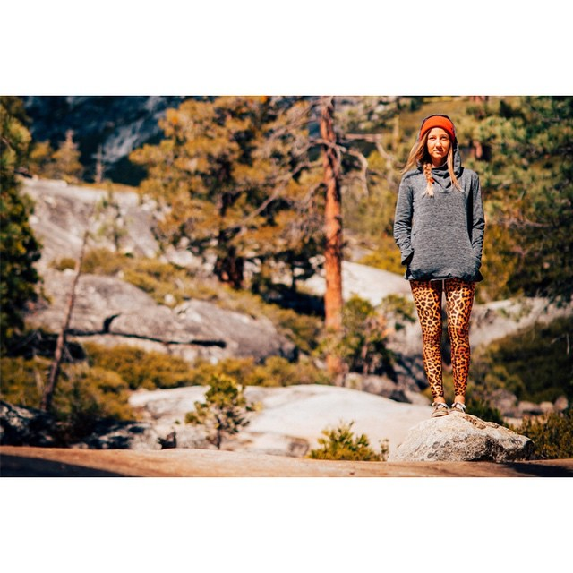 The [Phipps] hoodie goes well with just about every legging print you can imagine. Except snake skin. We hate snake skin.  Photo: @ben_arnst _ #desolationsupply #itswayoutthere #DESO #madeinCA