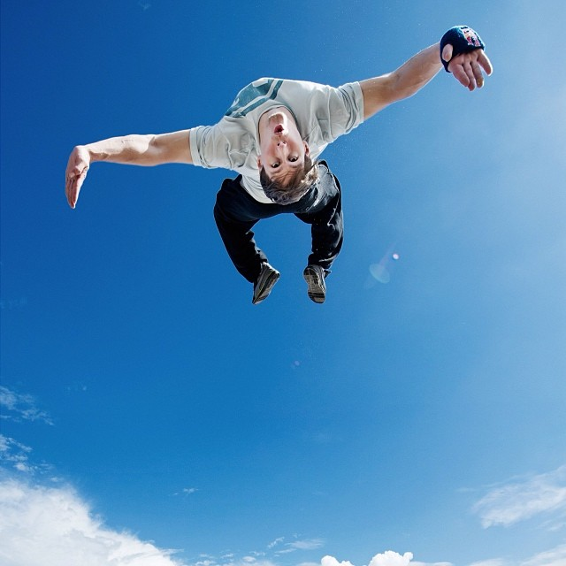 Head for the sun. #freerunning