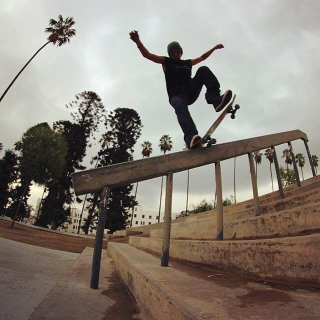 @listoassfoo with another #banger  of a #nosegrind on one of over #super decks #skatelife #skatedaily #skateshops ##thankyouskateboarding #skateboarding #skate #4down #hammers #cali #concretewave #concretejungle #getbuck