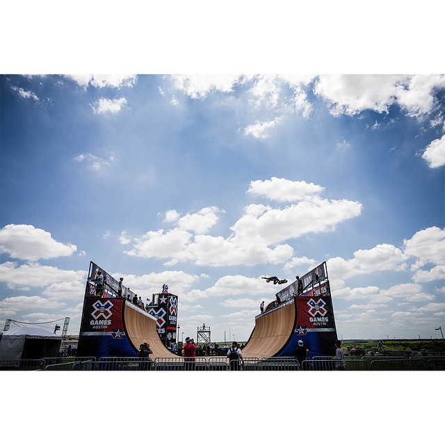 The Central Texas sun is shining on #XGames Austin!  Live action will begin tomorrow at 8:30 pm ET on ESPN. (