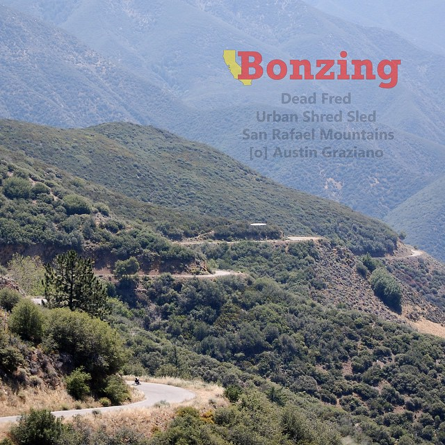 Wallpaper Wednesday: June!  Last month Team Bonzing took a trip into the California mountains to get out of the city and into fast mountain riding. We captured Team rider Dead Fred enjoying the lush landscape!  Get the high resolution photo for your...