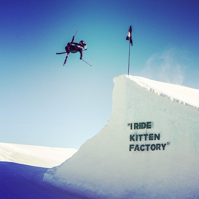 @killa_kevin puttin down the cork 9 at #iridekittenfactory #kittenfactory