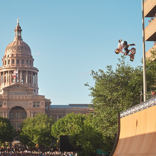 #TBT – Our inaugural year in Austin was incredible.  This year is gonna be even better! #XGames (