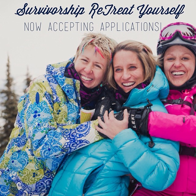 B4BC SURVIVORSHIP FUND // Now Accepting Applications for Winter ReTreat Yourself!! Know a breast cancer survivor that would benefit from a weekend of wellness, snowboarding, yoga, nutrition and healing led by B4BC & Wellness Ambassador/Pro Snowboarder...