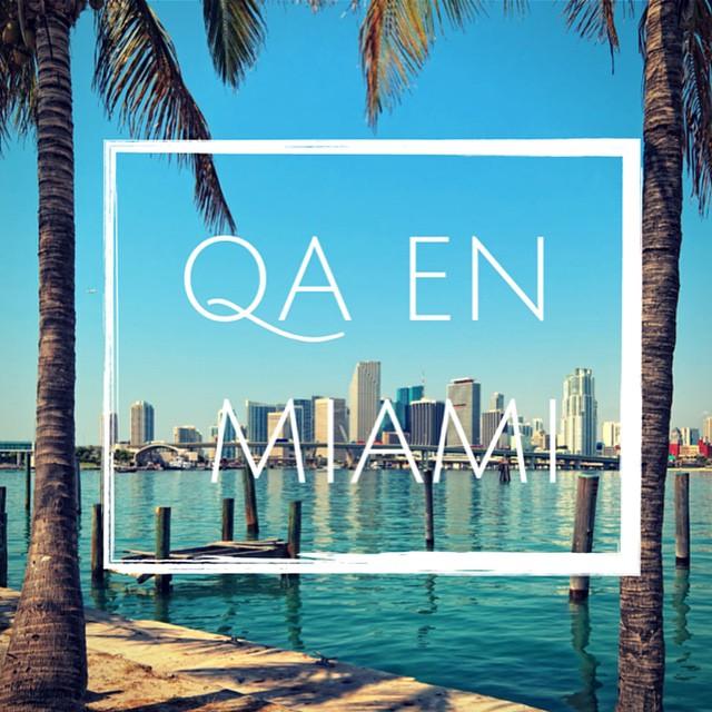 Estamos recorriendo el Mundo y formando el equipo con más Actitud, si vos querés ser parte escribinos a ventas@qa.com.ar Ahora nos podés encontrar en Miami www.QA.com.ar