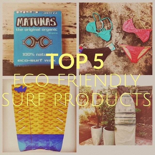 Stoked to be selected in top 5 for eco surf gear by wavehuggers!