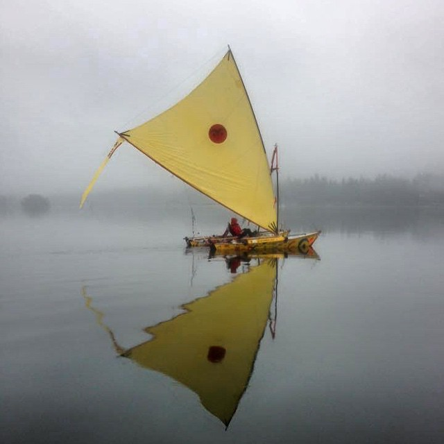 Thomas Neilsen and Scott Veirs launched today from #PortTownshend, WA, on a rowdy 1,200km voyage in the inaugural Race To Alaska. The first of the human- and wind-powered crafts to reach #Ketchikan, AK, wins $10k.  We're honored they added...