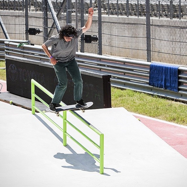 Day 2 of #xgames practice on the @carampworks course. Here is Marisa Dal Santos warming up! #ladiesofshred