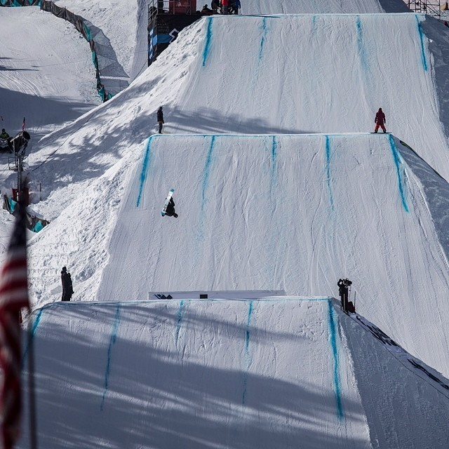 Men's Snowboard Slope Elims kicking things off shortly! Get all your details at XGames.com #xgames (Photo @christianpondella )