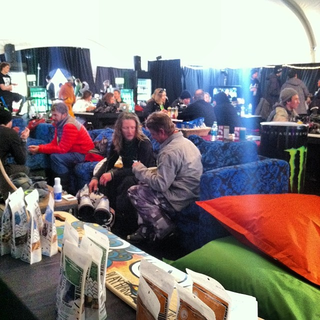 The athletes are getting ready for the first day of competition here at the @xgames !