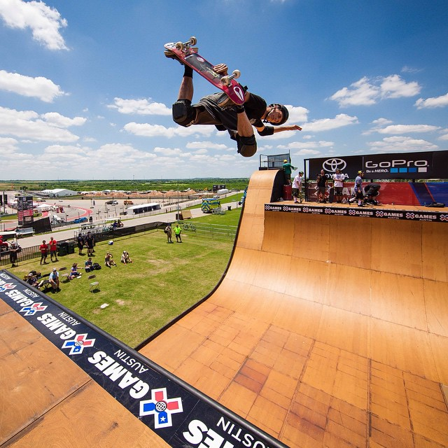 Warming up for an epic four days here in Austin, Texas!  #XGames kicks off tonight at 8:30pm ET on @espn (