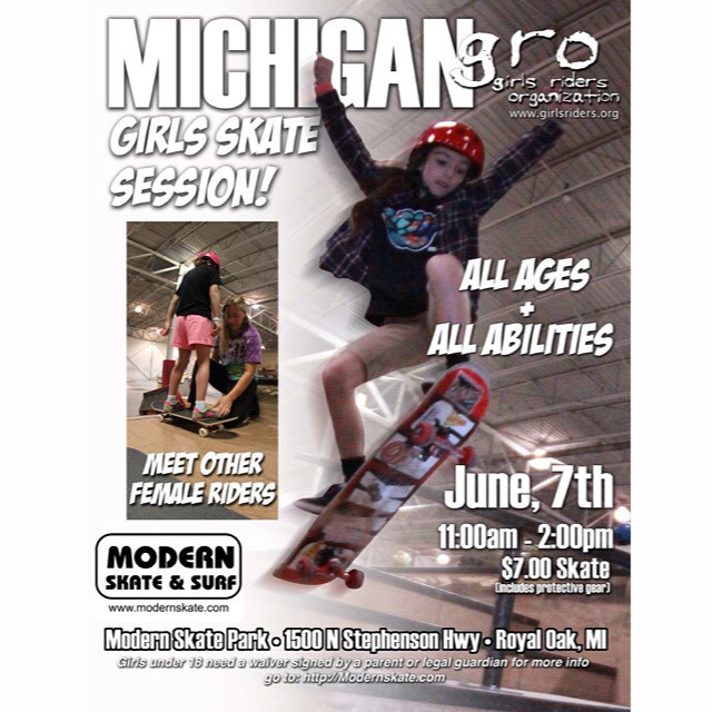 Come skate this Sunday. ALL ladies are welcome to join