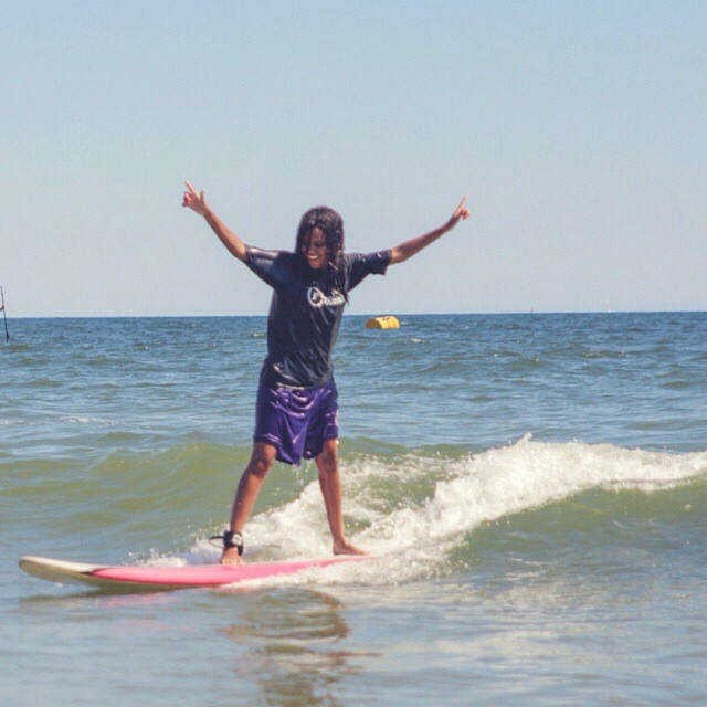 An amazing #stokedmoment! #happiness #success #determination #motivation #surf #surfing #surfboard #surflife #surfer #surfergirl #waves #beach #ocean #nature #water #smiles #happy #joy #dreams #accomplish #youth #la #losangeles #cali #stoked #stokedorg