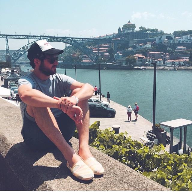 Friends in #Porto @willynaves pásalo bien en #NosPrimaveraSound ⚓