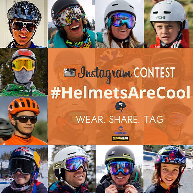 Show off your helmet this month for a chance to win a @woodwardtahoe Bunker Pass! Share using tags #HelmetsAreCool #woodwardtahoe @hi5sfoundation & @woodwardtahoe | Rules in bio |