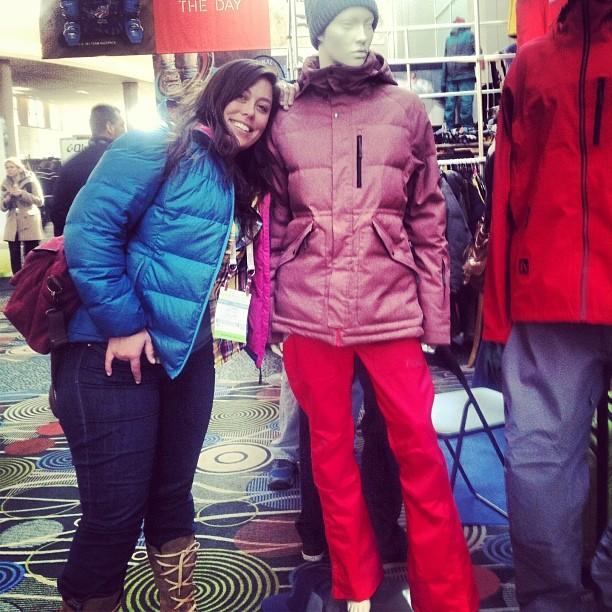 Diggin on @flylowgear '14 line. Ladies, get ready to be impressed. #orshow #sweetouterwear #skilikeagirl