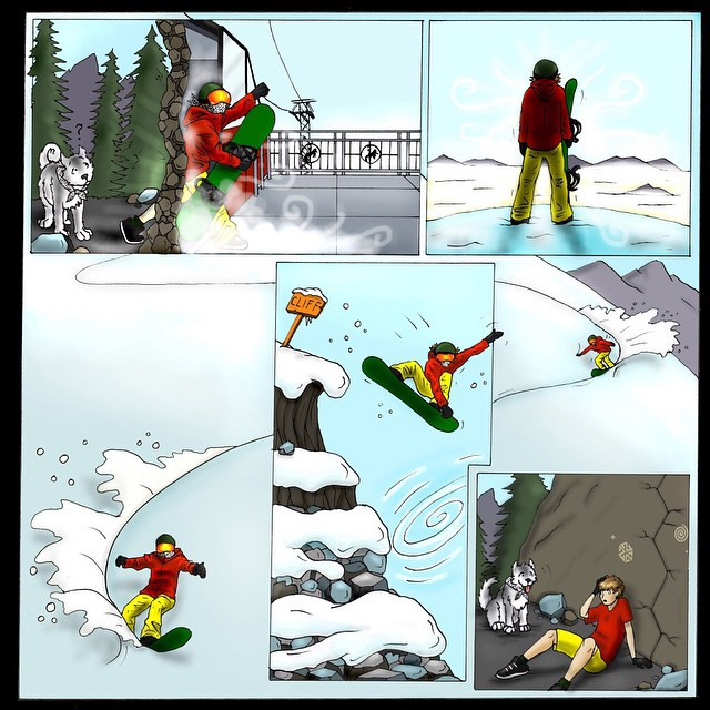 Gateway to Winter comic part 2 by @kyehalpin and @robkingwill #avalon7 #liveactivated www.avalon7.co