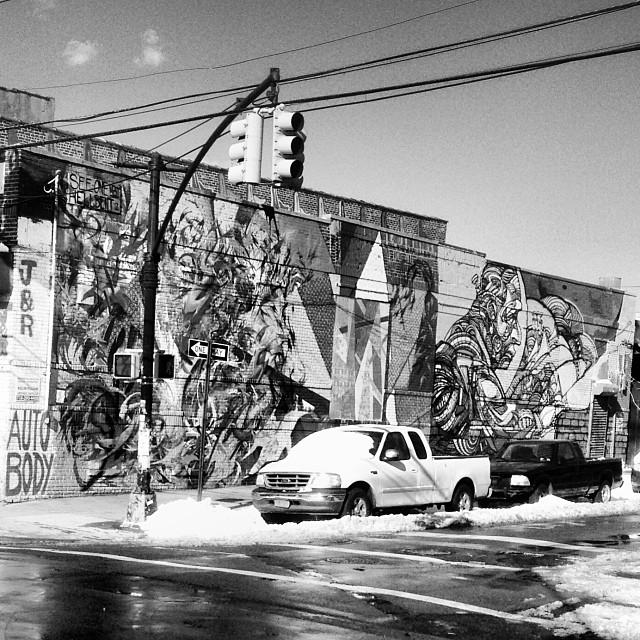 Bushwick scenes. #bushwick #streetart #brooklyn