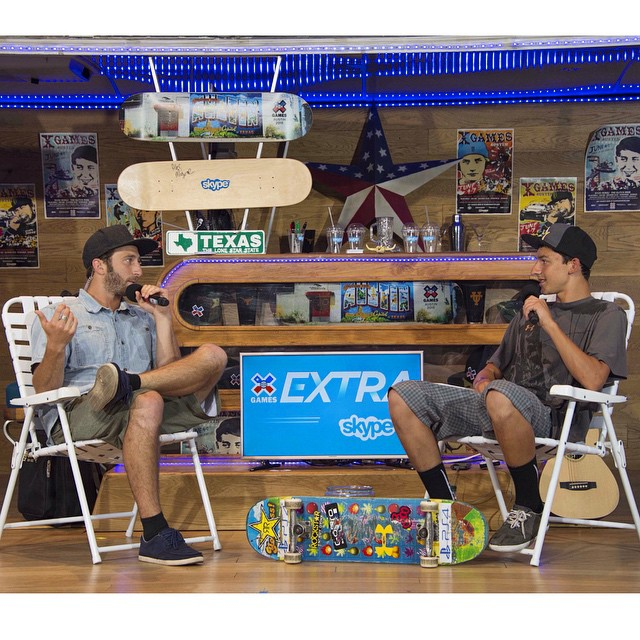 Tonight, immediately following Skateboard Big Air, head over to XGames.com for #XGamesExtra presented by @skype.  @jackmitrani will be hanging out with today's gold medalists and recapping day two at X Games Austin.  Have a question? Send it over so we...