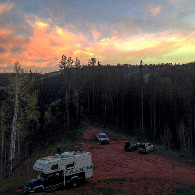 The best part about GoPro Mountain Games may be our camp spot. Happy Friday!