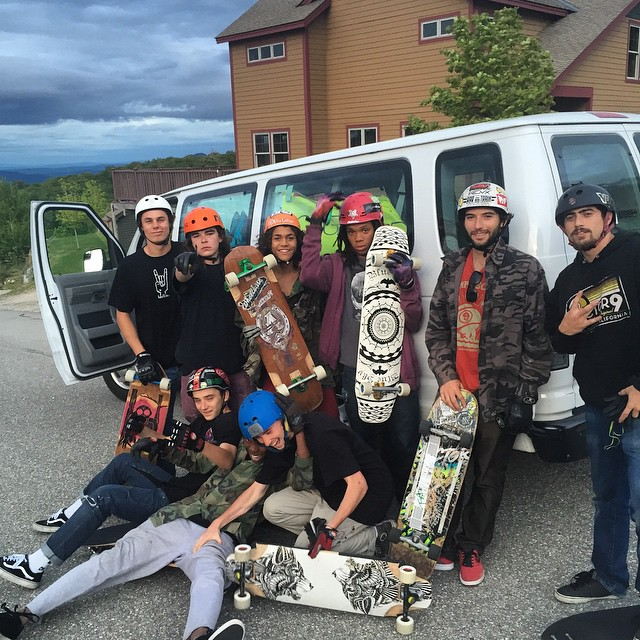 #locstripping picked up west locs @jimmyriha and AJ Haiby to continue their tour to killington downhill and Burke MT.