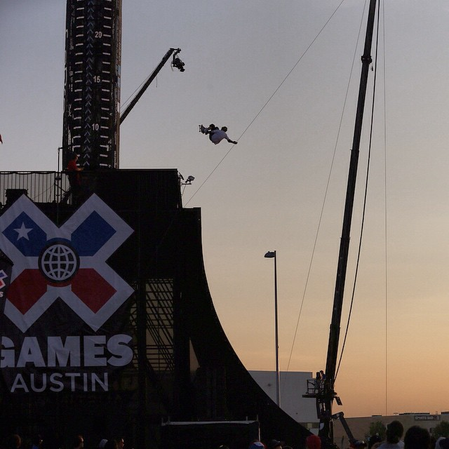5 skaters, 1 gold. The #XGames Skate Big Air final is going down right now on @espn! (