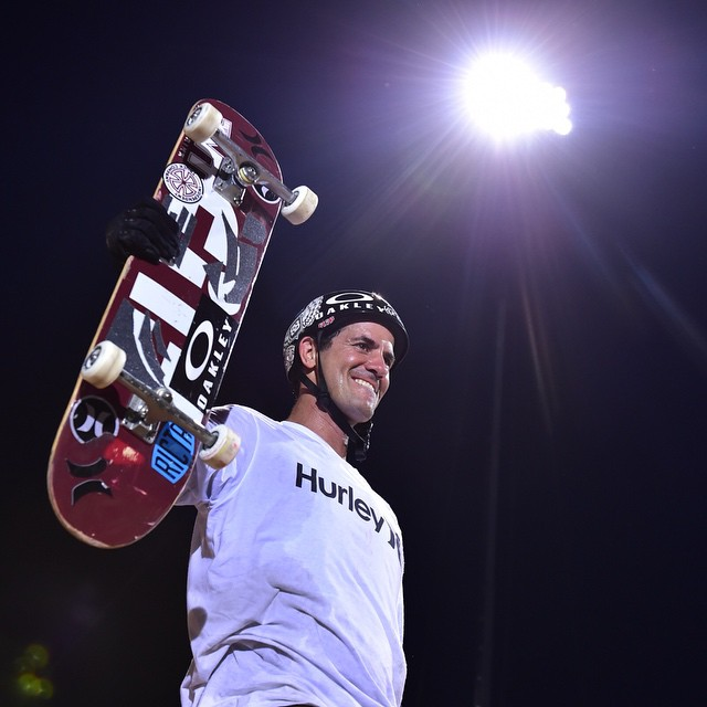 @bobburnquist continues to push the envelope of possible. Make it 8 Skate Big Air gold medals for the #XGames legend! (
