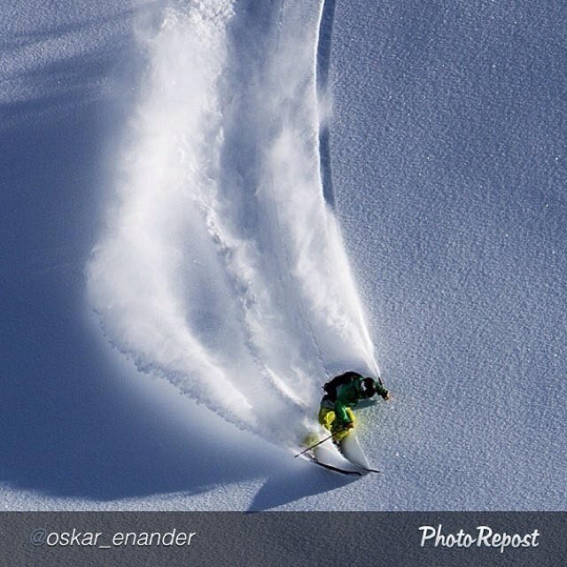 "The boys finding some powder while road tripping through #Italy. #Regram from @oskar_enander: ""@pierssolomon carving down our last run yesterday in Gressoney."" @dpsskis @patagonia @fstopgear #find_away #fstopgear #skiing #gressoney"" #dpsskis..."