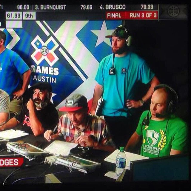 #highfivesathlete Eric Zerrenner #reppingthe5 at @xgames Austin