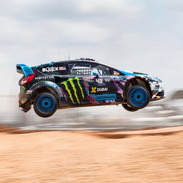Come on @kblock43, let's rally.  Watch Ken at #XGames today on ESPN3, starting at 2 pm ET.  #SEEHAPPY
