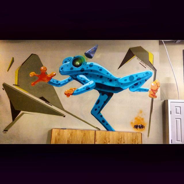 @tarboxx2 | @bryancope • • Collaboration #htx #houstontx • • #ATX #austintx #tx #texas #spratx #mural #art