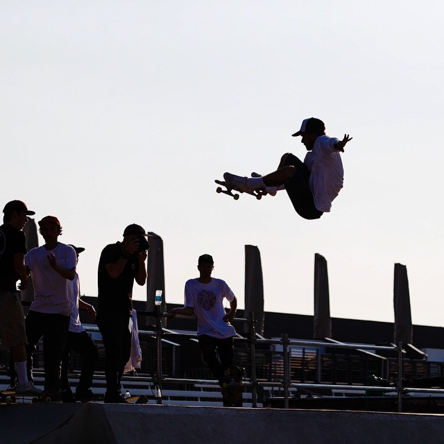 Let's get this party start with @toyotausa Skate Park. Flip over to @espn to see who is walking away with #XGames GOLD. (