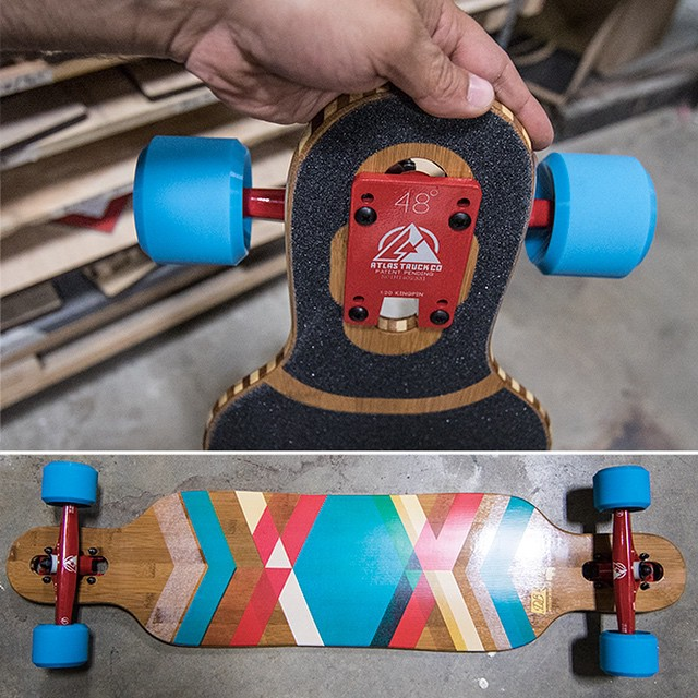 "A custom Pioneer 40"" with @atlastruckco and @cloudridewheels getting ready for a weekend adventure. #longboard #longboarding #longboarder #dblongboards #goskate #shred #rad #stoked #skateboard #skateeveryday"