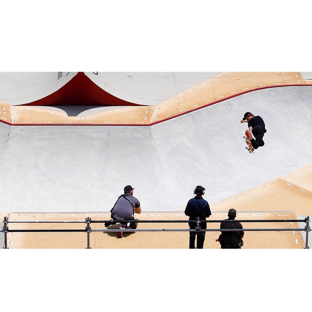 @currencaples and his smooth style taking home gold in @toyotausa Skate Park. #XGames (