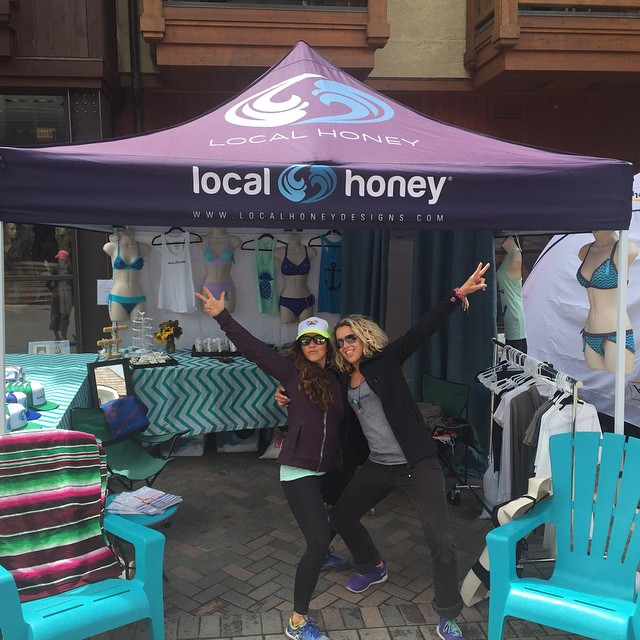 Local Honey's representing at @mountaingamesvail in Vail, Colorado! Come on by the booth and say hello if you are in town!
