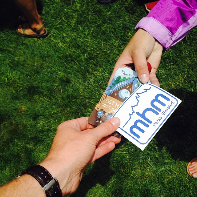 We're giving out free @munkpack  and stickers at the #GoProMtnGames because we love you.