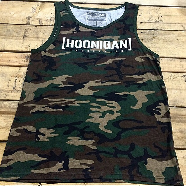 Get your self kitted in time for July 4th with our Camo USA tanks, now back in stock, but likely not for long!