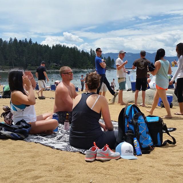 Beach time!! #beach #summershere #getoutside #relax #zephyrcove #weekends #backpacks #coolers #graniterocx