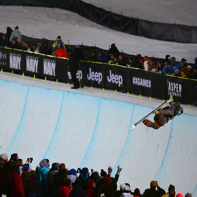 Style for days in Men's SuperPipe Elims! #xgames (Photo @joshdup )