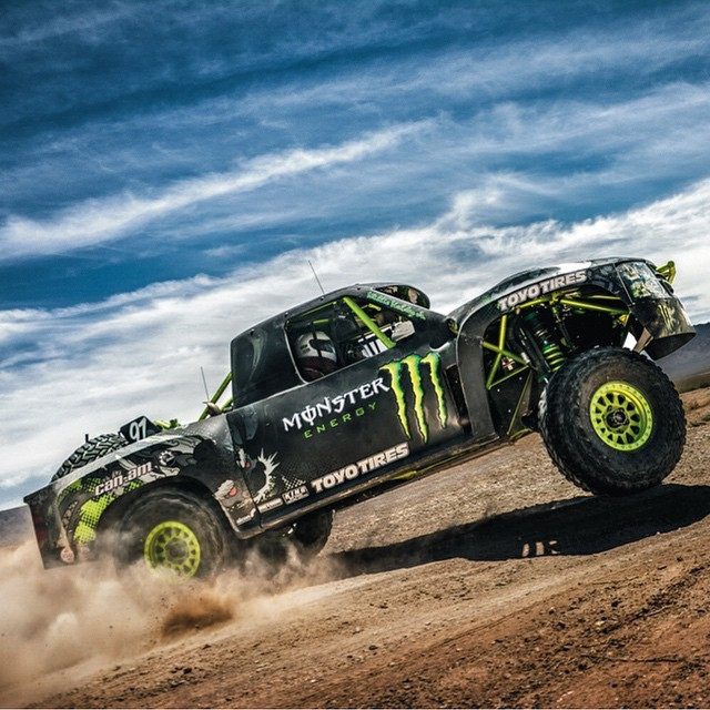 Good luck to our dude @bjbaldwin at the #baja500 today! #giveemhell